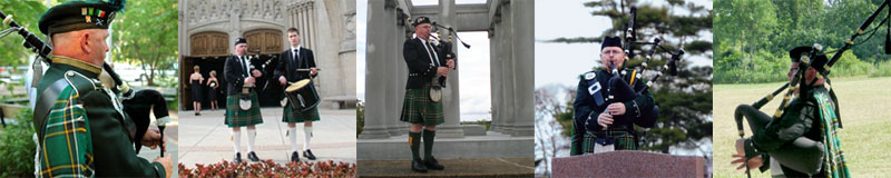 Utilize a bagpiper - Rufus Campbell